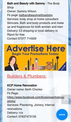 Banner Advertising for 7 days