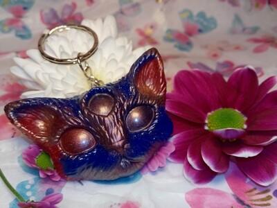Third Eye Kitty Red & Blue