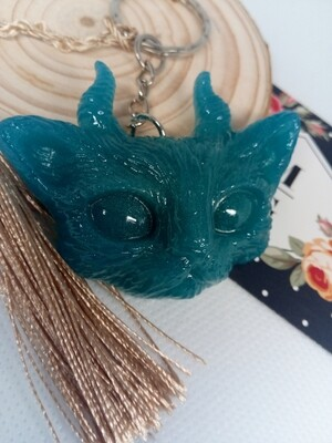 The Evil Cute Kitty Blue / Neon Glow In The Dark Pigments