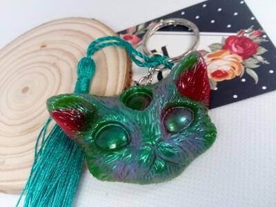 Third Eye Kitty Green, Red & Aurora pigments