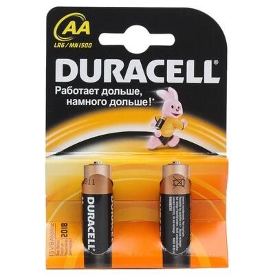 DURACELL Батарейки Basic AA  2шт