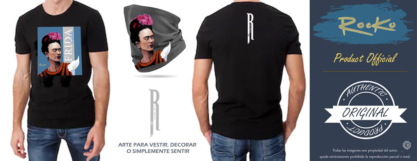 LOTE camiseta + braga de cuello FRIDA KAHLO