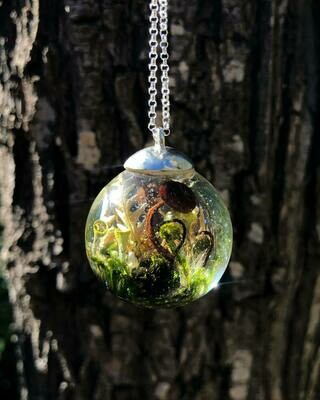 Fairy Forest Globe Necklace