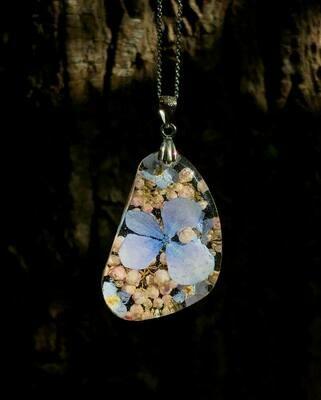 Flower Garden Pebble Necklace