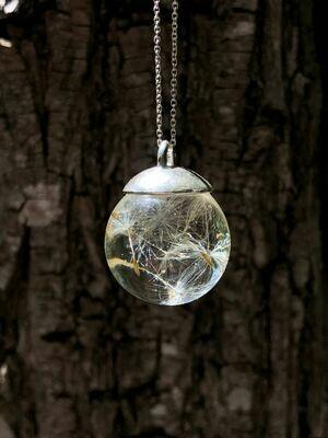 Small Dandelion Full Moon Globe