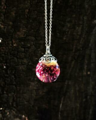 Wild Strawberry Necklace