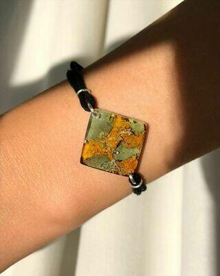 Lichen Square Bracelet