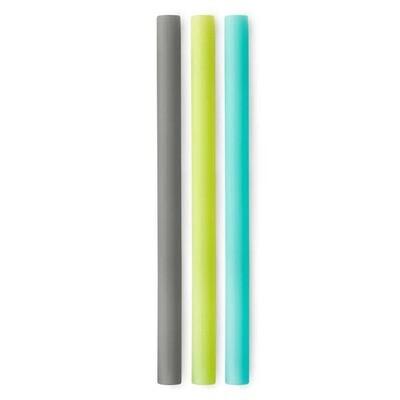 3 Pack X-Wide GoSili Straw