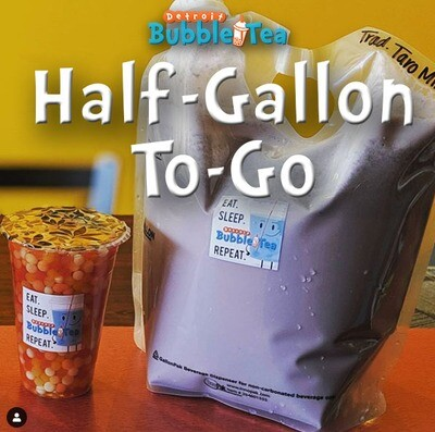 1/2 Gallon Milk Tea To-Go *PICK-UP ONLY*
