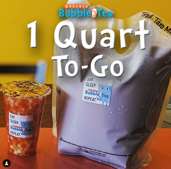 1 Quart Milk Tea To-Go *PICK-UP ONLY*