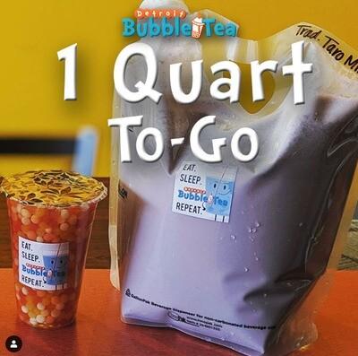 1 Quart Milk Tea To-Go *PICK-UP ONLY*
