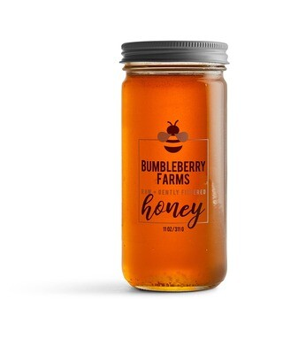 Raw + Gently Filtered Clover Honey