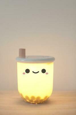 Portable Kawaii Boba Tea Light