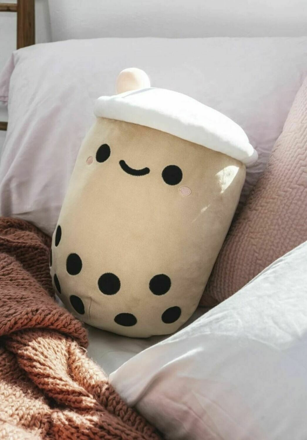 Giant Kawaii Boba Tea Plush