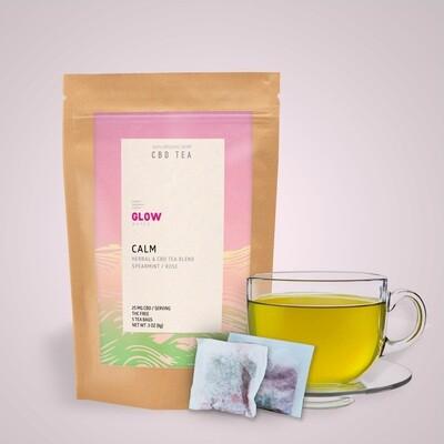 Calm CBD Tea by GLOW Water