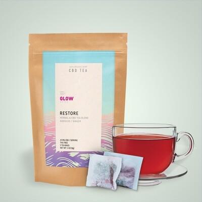 Restore CBD Tea by GLOW Water