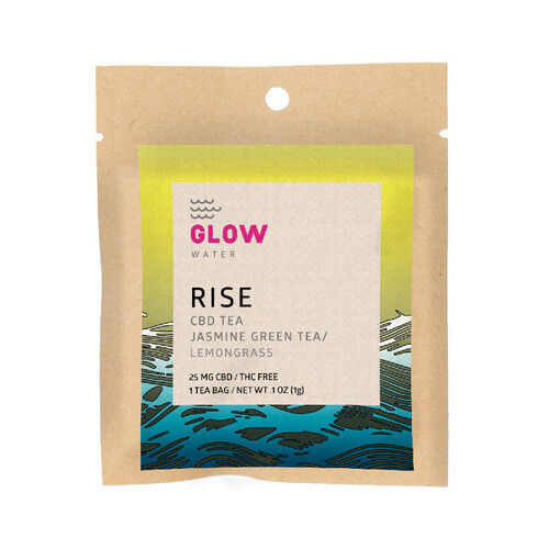 Rise CBD Tea by GLOW Water