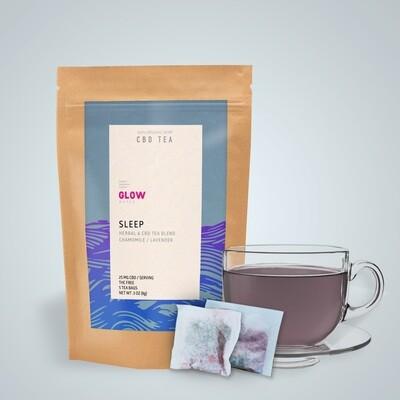 Sleep CBD Tea by GLOW Water