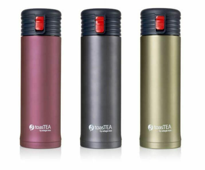 toasTEA - Portable Double Wall Tea Infuser from Adagio Teas