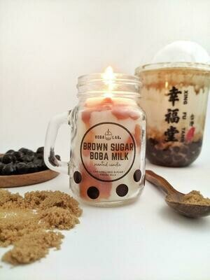 Brown Sugar Milk Tea Boba Lab Candle