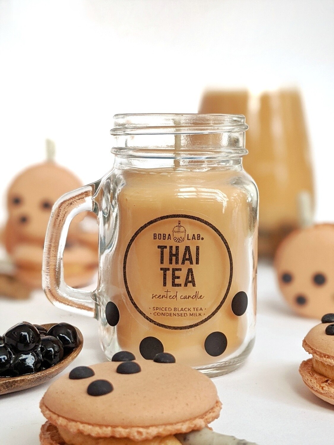 Thai Tea Boba Lab Candle