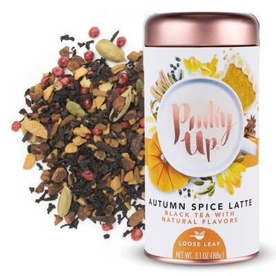 Pinky Up Autumn Spice Latte Loose Leaf Tea