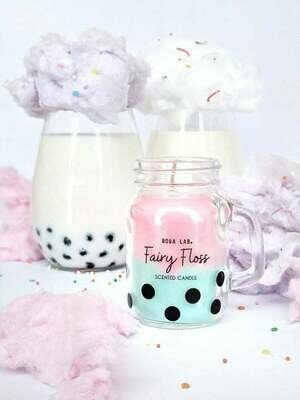 Fairy Floss Boba Lab Candle