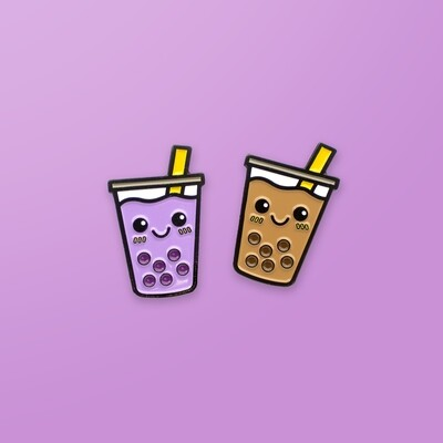 Pin Pin Pals - Boba Best Teas Pin Set