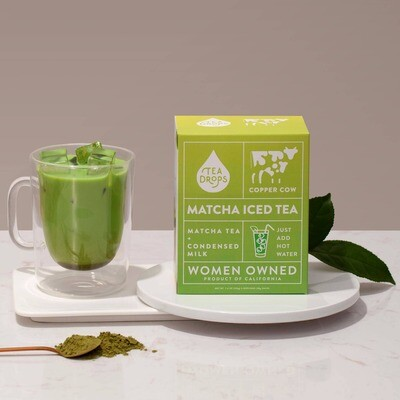 Tea Drops Matcha Iced Tea Latte Kit