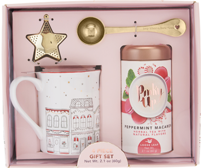 Holiday Infuser Mug, Scoop, Star & Tea Kit by Pinky Up®