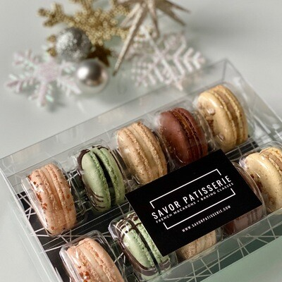 The Winter Collection Box from Savor Patisserie