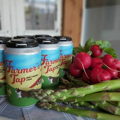 BARNSIDE BREWING FARMER'S TAP LAGER 6 pac