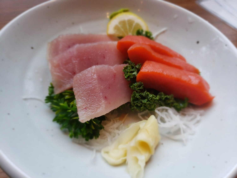 Tuna & Sockeye Salmon Sashimi