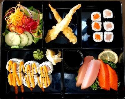 C. Tuna & Salmon Box