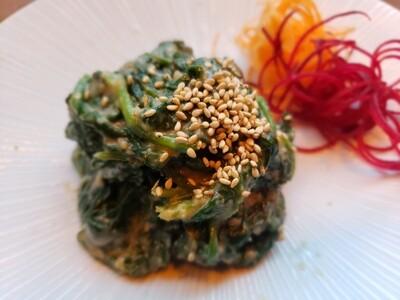 Spinach Gomaae Salad