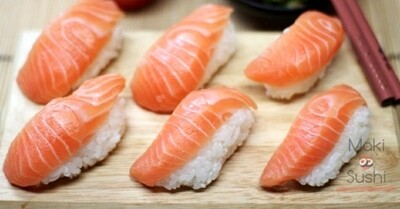 Atlantic Salmon Nigiri (6 pcs)