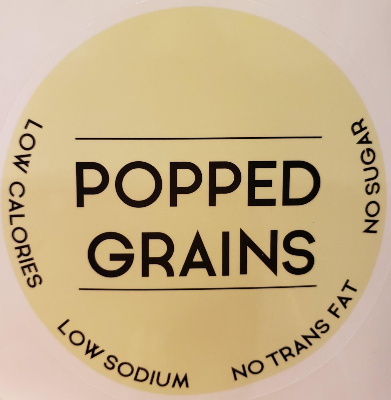 POPPED GRAINS