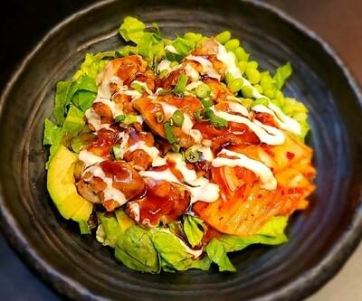 Kimchi & Chicken Poke