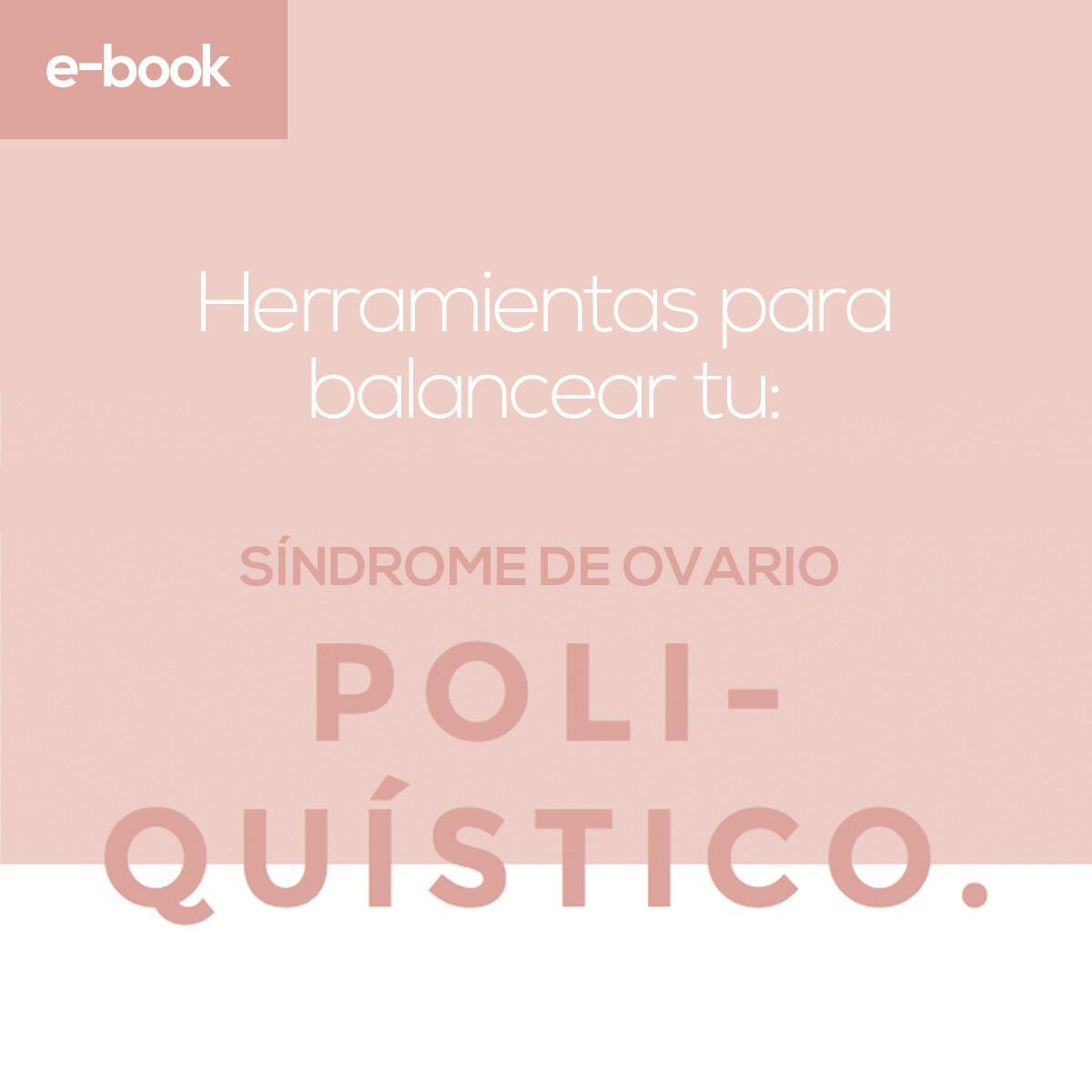 E-book: Guía para Síndrome de Ovario Poliquístico