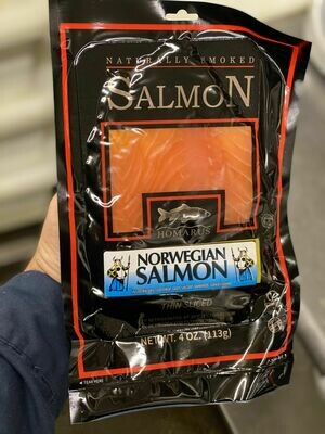 4 Oz All Natural Norwegian Salmon (Homarus)