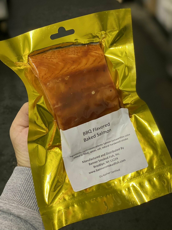 BBQ Flavored Kippered Salmon