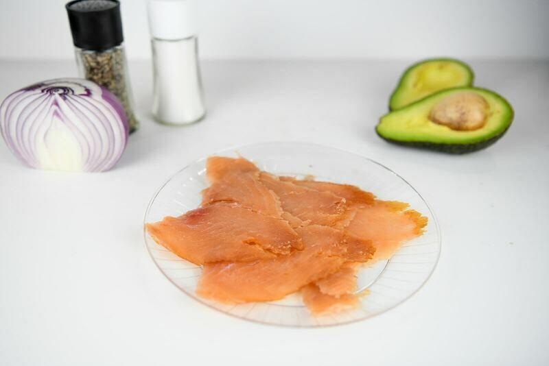 4 Oz Wild Alaskan Smoked Salmon
