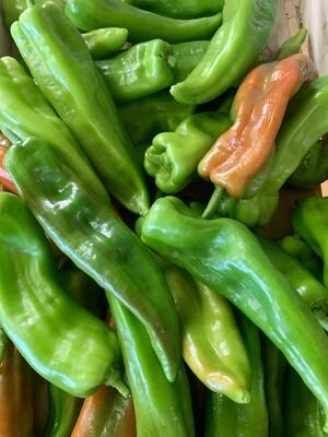 Piment vert doux (le kg)