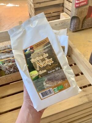 Farine de noix bio sans gluten