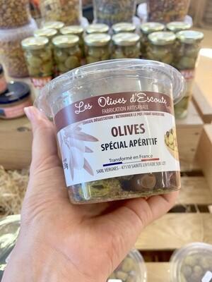 Olives spécial apéritif