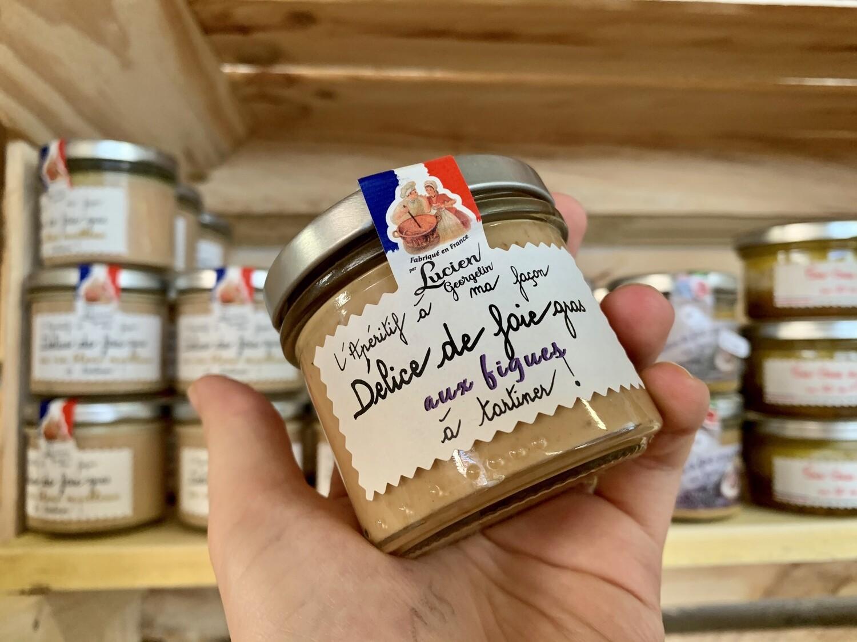 Délice de foie gras aux figues