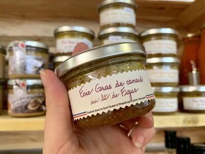 Foie gras de canard sur lit de figue