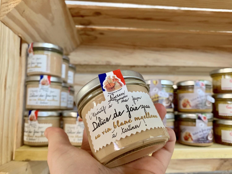 Délice de foie gras au vin blanc moelleux