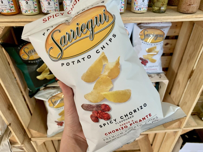 Chips au chorizo piquant