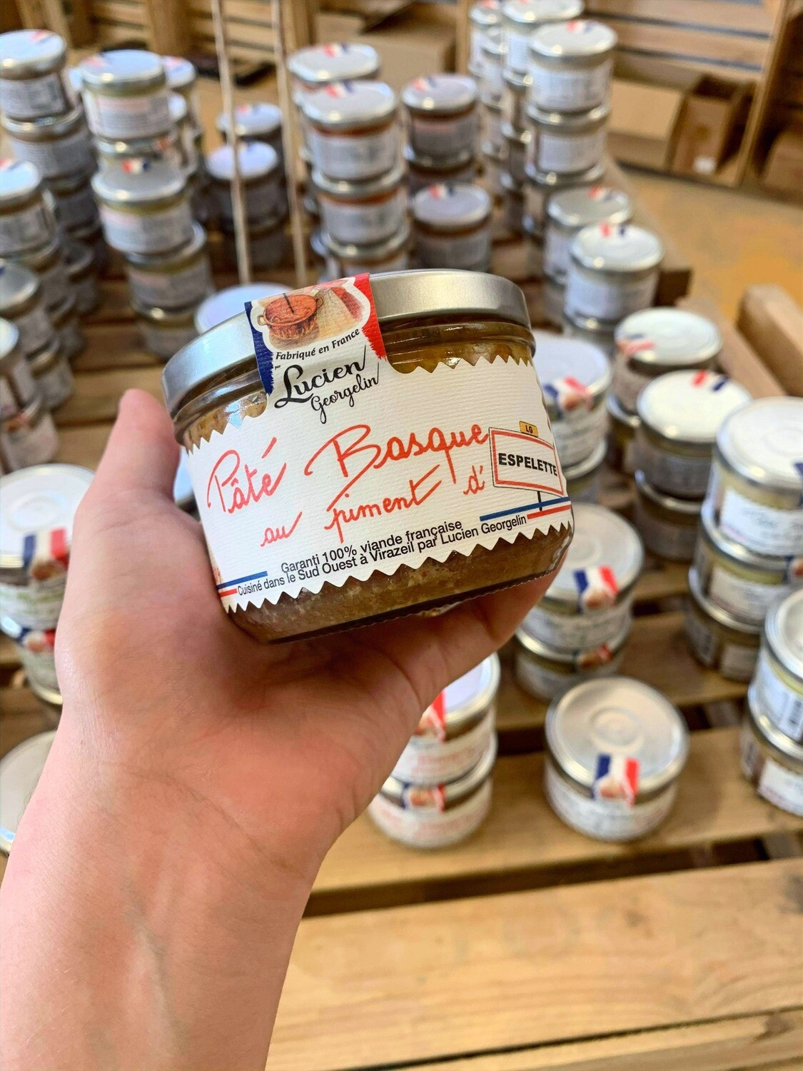 Pâté basque au piment d'Espelette